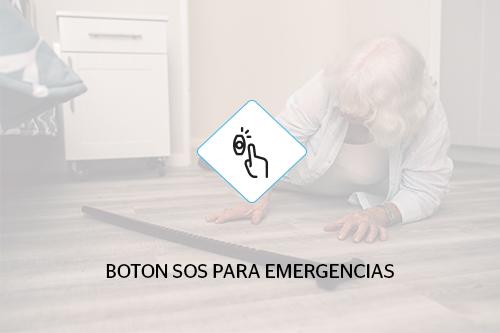 Botón SOS para emergencias